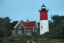 Lighthouse with House